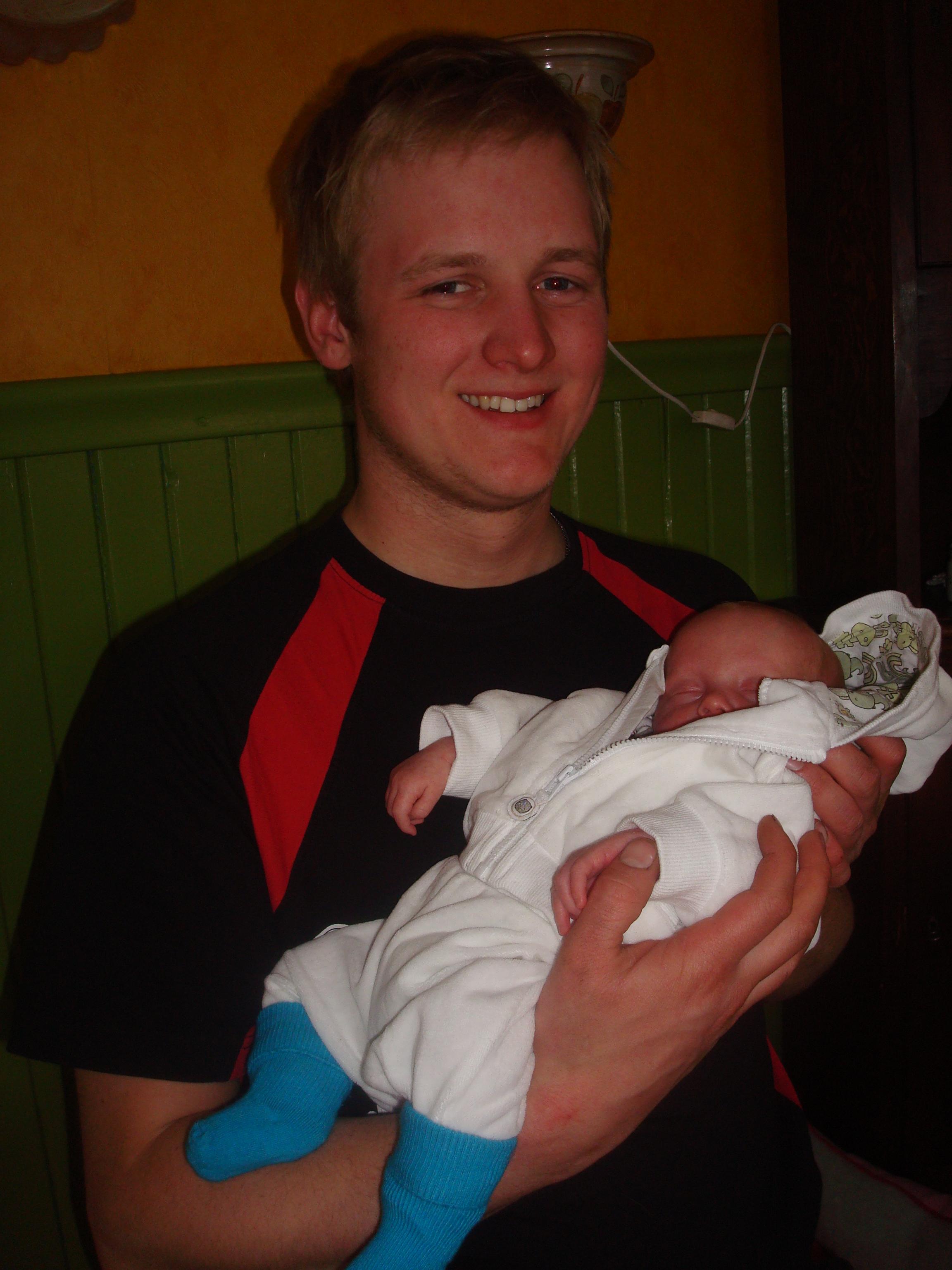 Morbror David och lilla Simon