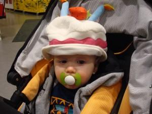 Wilmer provar hattar!