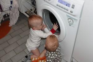 Tänk om jag skulle tycka att det var lika kul att vara i tvättstugan, då skulle jag hinna med grannens tvätt oxå!